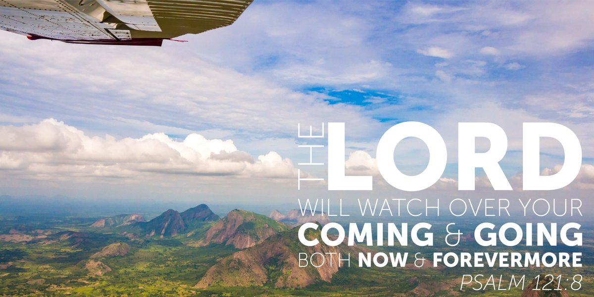 The Lord will watch over your coming and going both now and forevermore #iflyMAF #75YearsofMAF