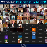 Image for the Tweet beginning: Así fue el #Webinar Golf