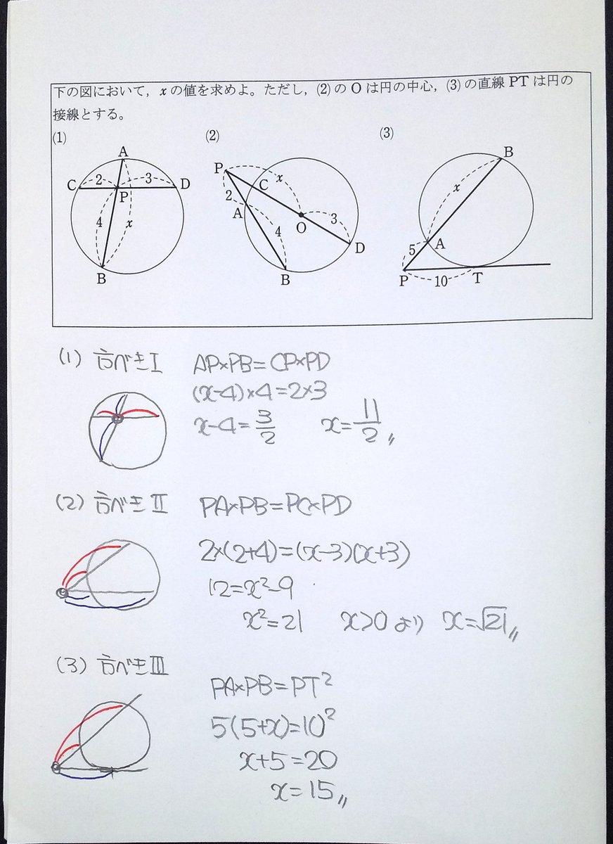 ほう べき の 定理