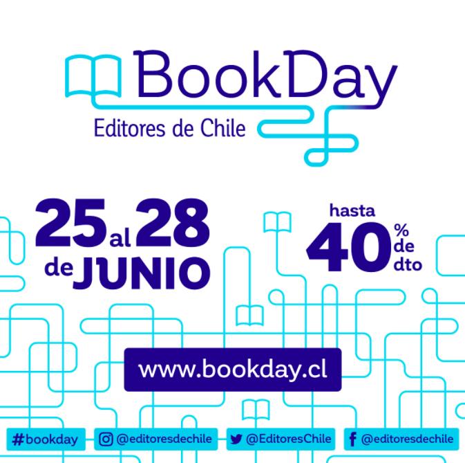 💥En esta semana queremos invitarles a celebrar el #BookDay, evento organizado por @EditoresChile y donde podrán encontrar, además de nuestros libros, hasta un 40% de descuento en títulos de más de 30 editoriales independientes 🙌 https://t.co/4fuOQGaMA9