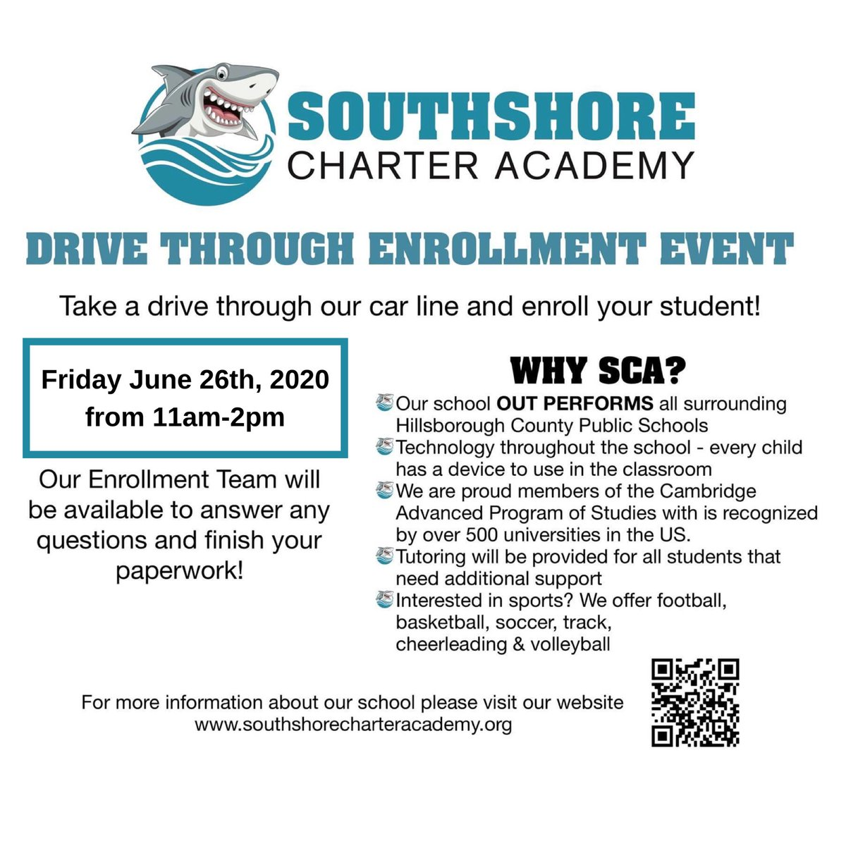 Southshore Charter Academy Scasharks Twitter