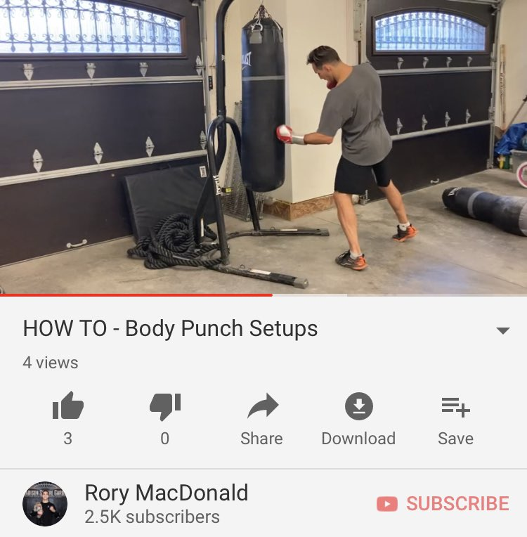 Setting up punches to the body tutorial  https://t.co/3gydpZECFX https://t.co/zXoFhPDp4S