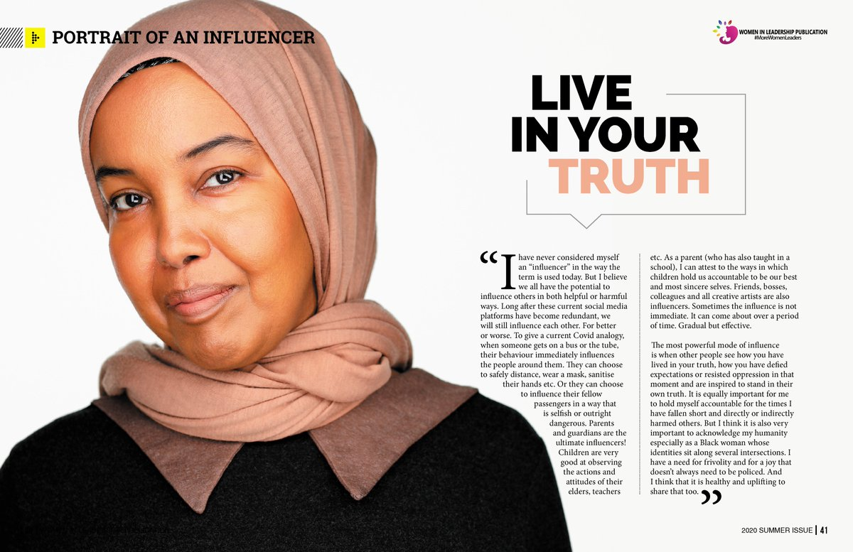 """""""The most powerful mode of influence is when other people see how you have lived in your truth, how you have defied expectations or resisted oppression in that moment & are inspired to stand in their own truth"""" @hyfreelance in https://t.co/iQgD0Rae2G Click https://t.co/9v6WwXNrlH https://t.co/0T36dn6Ym3"""