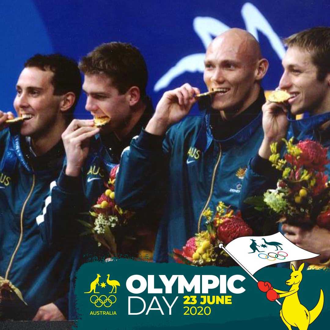 Happy #Olympic Day! 💚💛 Today we join the @ausolympicteam and recognise all 3988 Australian Olympians and everything we love about the Olympics!   #OlympicDay2020 #TeamAUS #TokyoTogether https://t.co/wD7tZmF2w4
