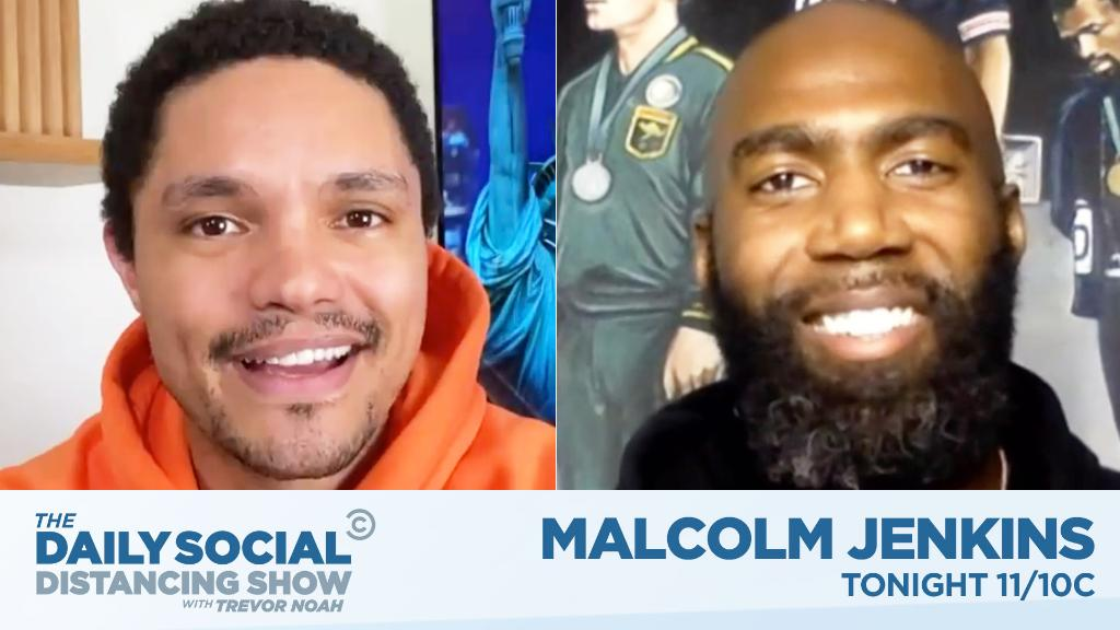 TONIGHT: NFL star @MalcolmJenkins is here! https://t.co/PYdmvfsghl