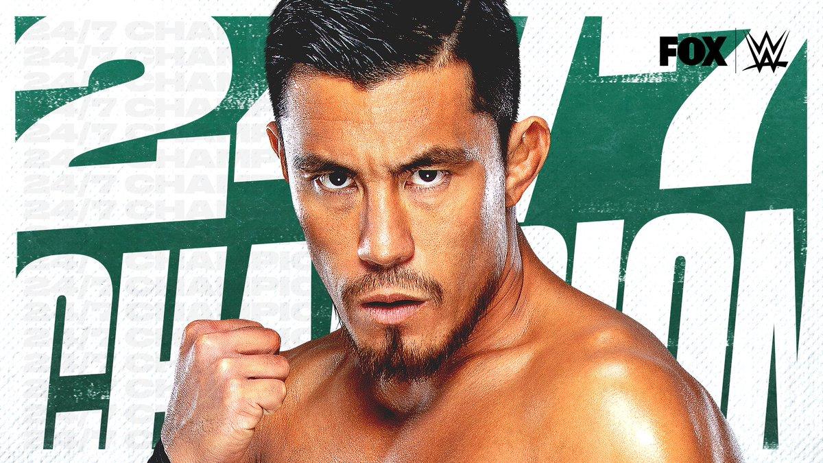 RT @WWEonFOX: Your NEW 24/7 Champion: @TozawaAkira! #WWERaw.  . https://t.co/vgfieCcmh2