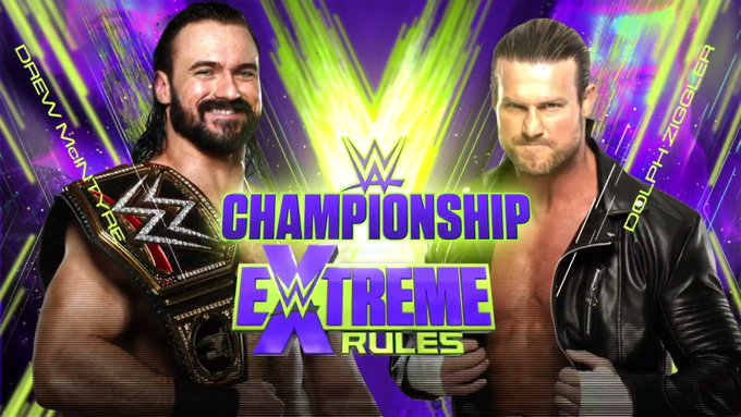 Dolph Ziggler disputará o WWE Championship no Extreme Rules