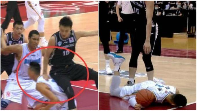 【影片】破案了!林書豪為何重摔在地,8倍慢鏡再看一遍:對手有點過分了!