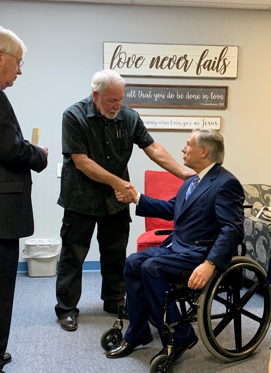 Jack Wilson is a true Texas hero.  He took down a gunman in a Texas church, preventing countless church worshipers from being slaughtered.  I gave him the Governor's Medal of Courage for putting his life on the line to save others.  Texas needs heroes like Jack Wilson in office. https://t.co/86q8PRaTNb https://t.co/5bXUwvGylX