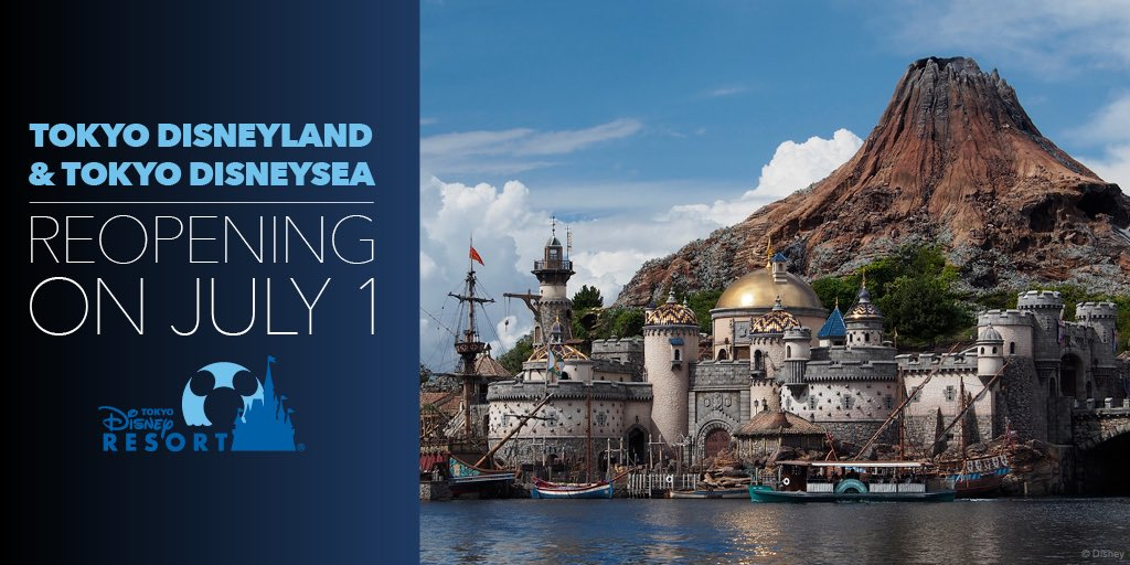 We're excited to share that Tokyo Disneyland and Tokyo DisneySea will reopen on July 1! ✨