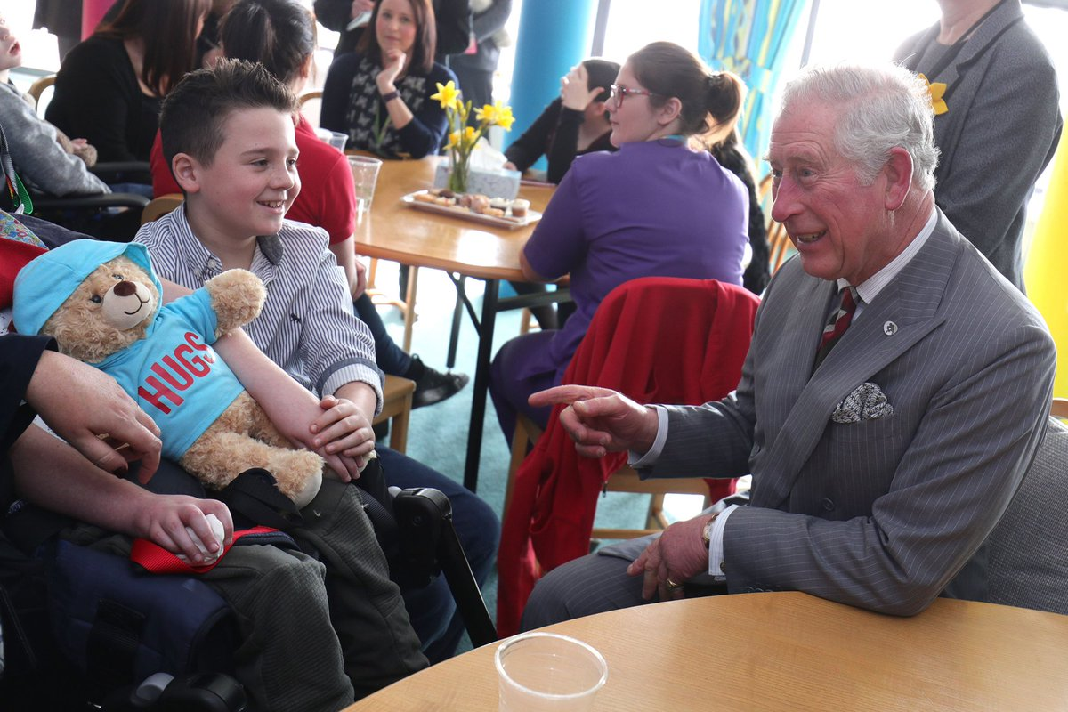 Members of the Royal Family have witnessed first-hand the extraordinary dedication, love and care seen in children's hospices across UK, through their Patronages. @tyhafan l @SSChospices @EACH_hospices l @CHSW l @HelenAndDouglas #ChildrensHospiceWeek #CharityTuesday