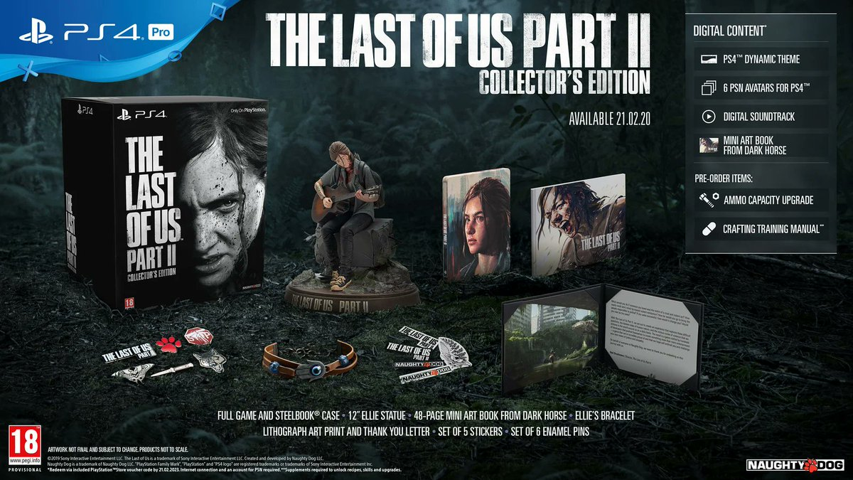 Hi everyone!  We now have one spare Collector's Edition of #TheLastOfUsPart2! Be quick, this puppy is extremely limited! Be sure to bring your trade to make this even cheaper!  If you're an Elite member, earn £16 back on your Reward Card with this version of the game! https://t.co/CFlHBIxwiD