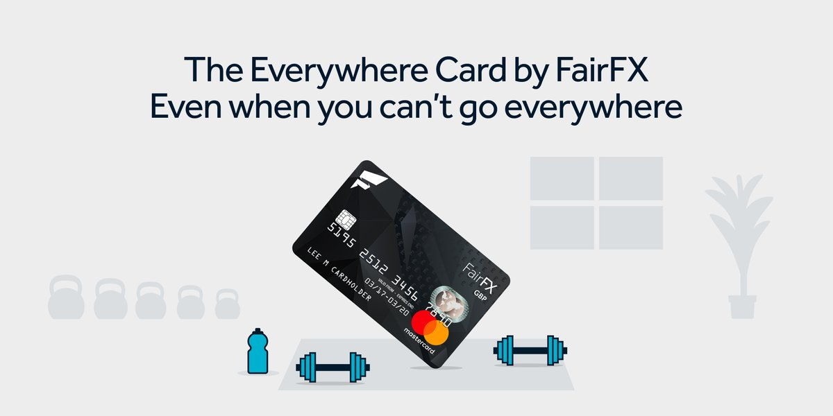 When you're done with the home workout, the FairFX Everywhere Card is perfect for grabbing your essentials. Earn cashback rewards at the likes of Sainsbury's and order linked cards for family and friends to help them with their shopping too.  See https://t.co/qy7g0MjynB for more. https://t.co/42B7rvM76J