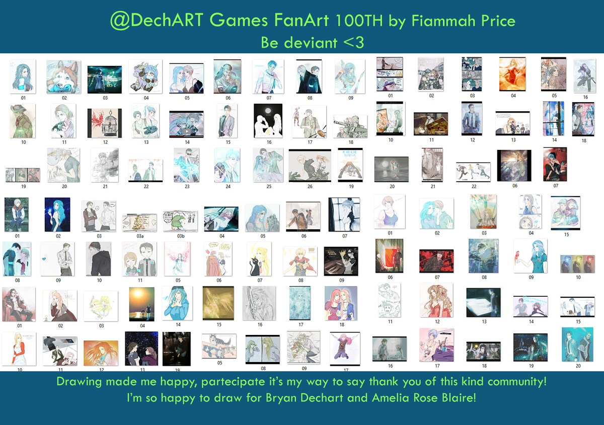 thank you so much kind community of #DechartGames // #ConnorArmy I'm so happy to be here to proposing you my drawings! #dechart of #october (#inktober) #december #february (#febdechart) #april #june #bryandechart #ameliaroseblaire #fiammahpricepic.twitter.com/kLHicYGiMo
