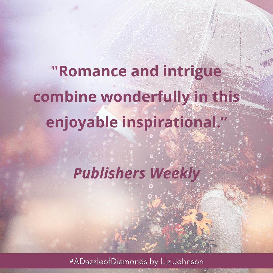 test Twitter Media - Thanks to @PublishersWkly for a lovely review of #ADazzleofDiamonds.  It'll be here soon (8/4)! Have you pre-ordered your copy? It's available wherever you like to buy books.  (New book not in your budget? Ask your local library to order it!) https://t.co/I3FPVBGLzu