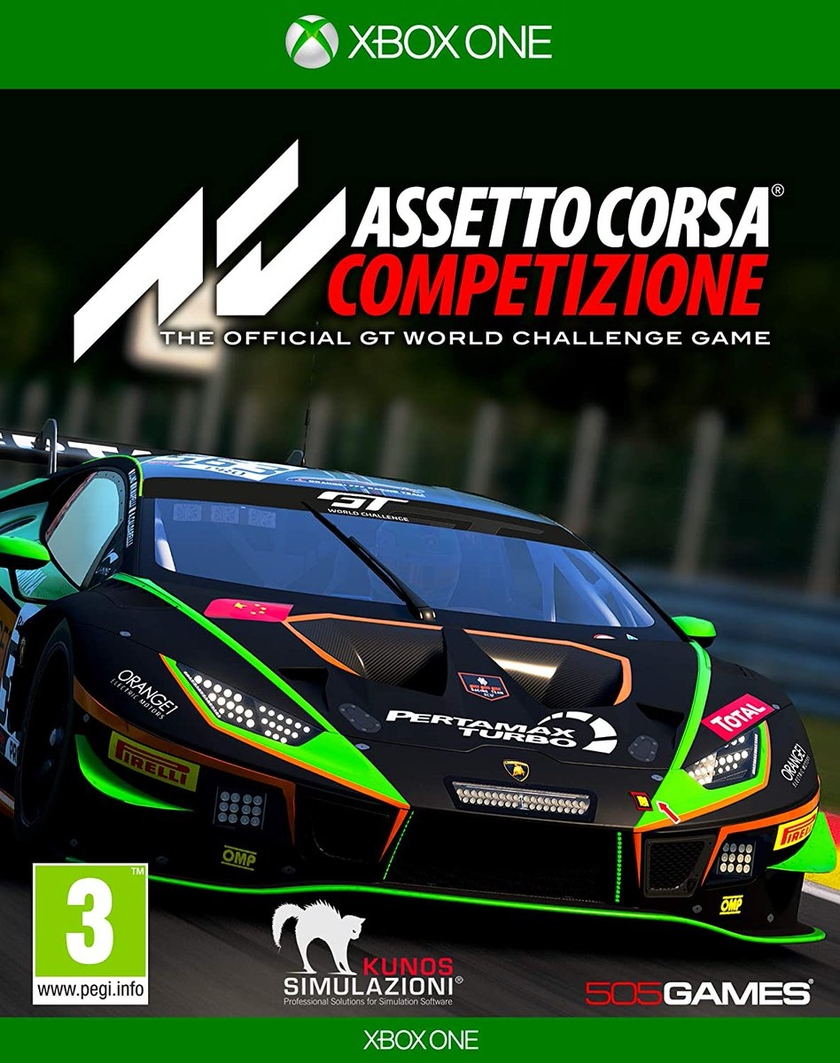Another game racing onto systems today, #AssettoCorsaCompetizione! Take racing to another level in this new title from the guys over @505_Games!  Available on both Xbox One & PS4!  Remember your trade to make this new title and even better bargain! https://t.co/Ni6h3yuCiA