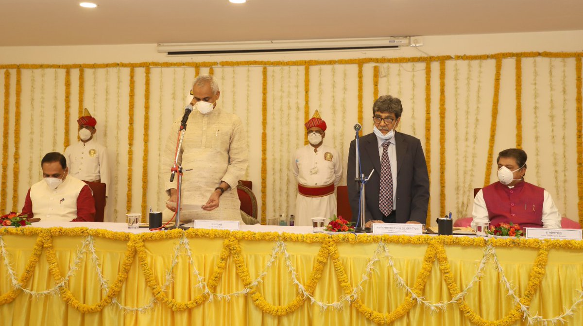 Justice Rajesh H Shukla sworn-in as new Gujarat Lokayukta