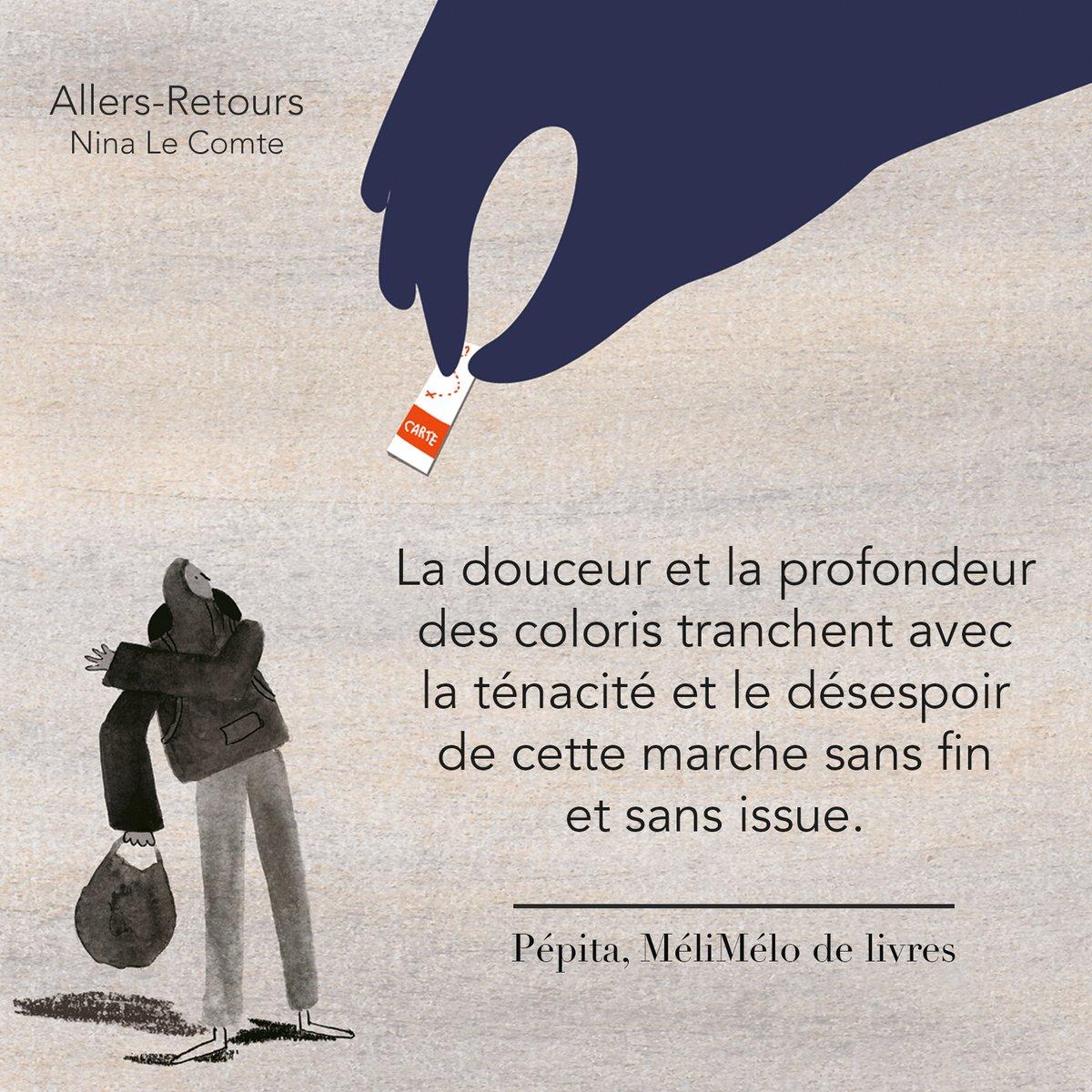 Merveilleuse recension de Melimelodelivres à propos d'Allers-Retours de Nina Le Compte ❤︎ https://t.co/QA7jbw15jj https://t.co/GXewjybepC