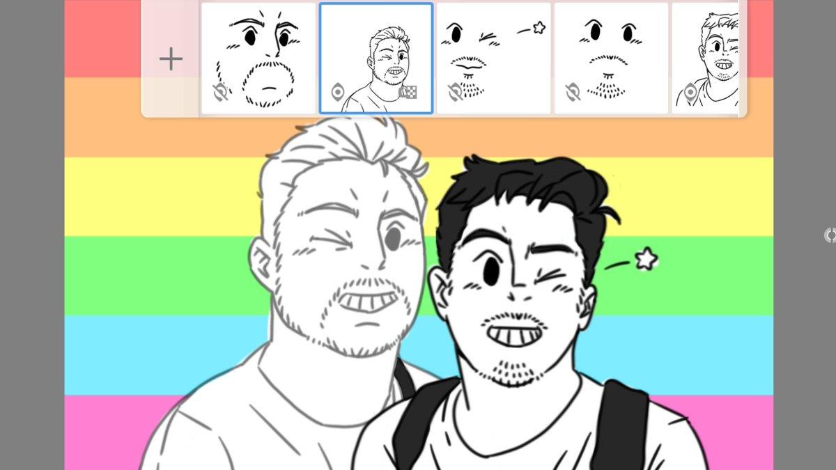 slowwwww WIP... #sketchbookapp #freehandsketch #digitally #LGBTQ #AllLivesMatterpic.twitter.com/Xd5Tv7Tgb4