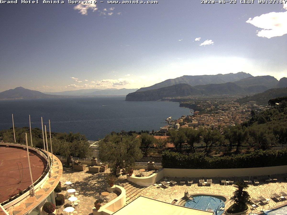 Pictimo On Twitter Watch Live Webcam Grand Hotel Aminta Sorrento Sorrento Italy Beachlife Beachvibes Beachtopless Hotel Https T Co Gt3w7zkxia Https T Co Hgrjhnf6p9