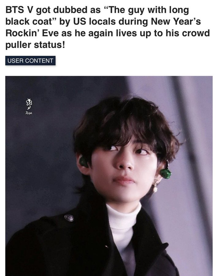 He went viral as the 'Guy with long black coat' in New Year's rockin eve'