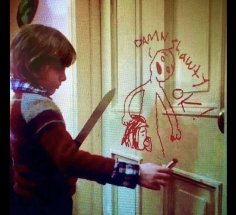 this scene in the shining is haunting