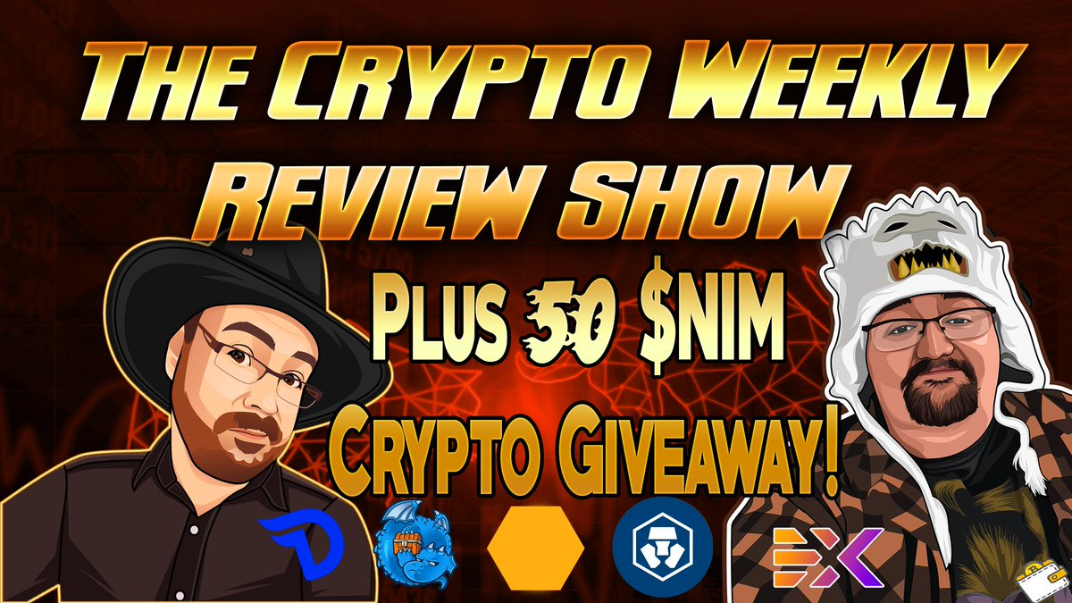 Crypto Weekly Review = Double $NIM Giveaway! - Divi Project Updates - DragonChain Lair! Link: youtu.be/0C_T2qrk6dY Another $50 to be given away this week.. Same rules as before :) #CryptoGiveaway #DiviProject #Nimiq #Crypto #Bitcoin #TimeForPlanB