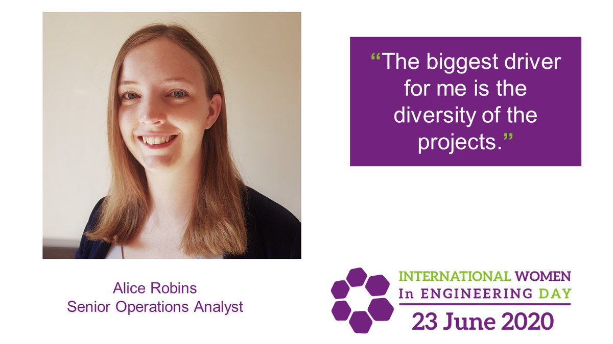 After completing her PhD, Alice Robins joined us as an analyst - developing a model to support decision making for platforms, processes and people. #INWED20  Read more about how Alice's work went on to #ShapeTheWorld now: https://t.co/HoZgHP7ynn https://t.co/cStnJatjFa
