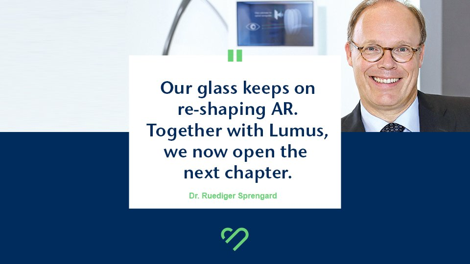 Exciting announcements are casting their shadows... stay tuned! https://t.co/oR55SLcAOU  Quote by our Head of #AR, RüdigerSprengard // cc Lumus #glasslovers #AugmentedReality #ARglasses #smartglasses #Lumusinside #thefutureislookingup #Optics https://t.co/r3sLyrcDve