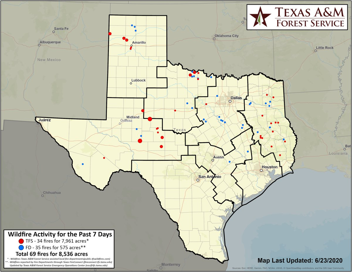 texas forest service active fire map Incident Information Texas A M Forest Service On Twitter Over