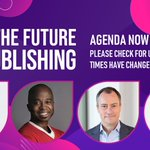 The full line-up for The Future of Publishing is now 100% finalised.   Join us from 9.05am - 2.45pm BST as we talk all things Publishing. We will be joined by speakers from @PubMatic, @Captify, @ladbible, @LiveRampUK, @Twitter and more!   register - https://t.co/y1m6noDSGa