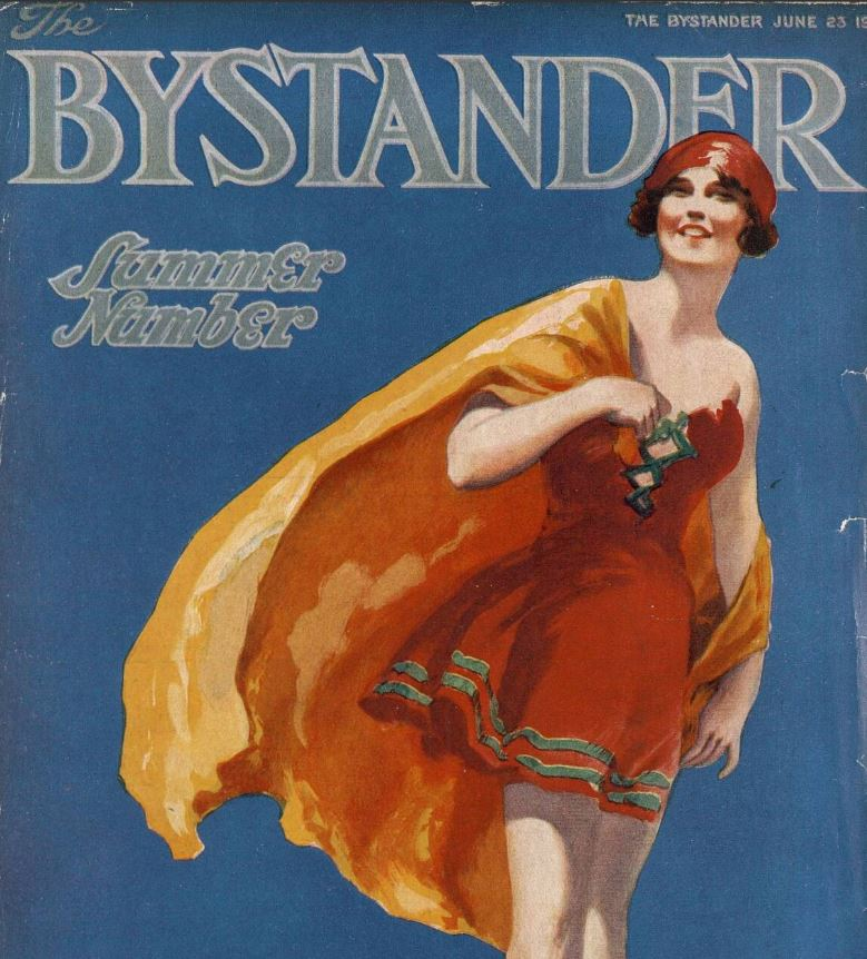 The Bystander, 23 June 1920, publishes its colourful summer number bit.ly/3d83jic #OTD #1920Newspapers