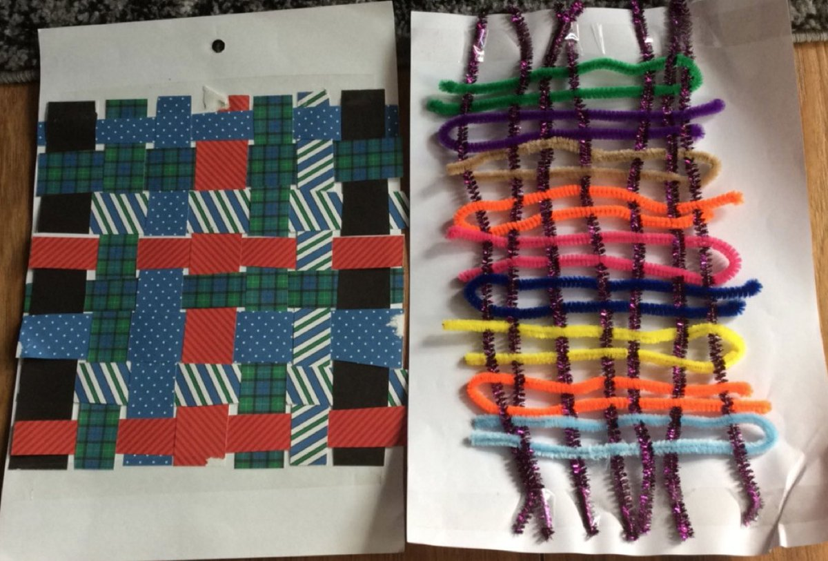 Ever tried paper weaving? #art at home inspired by #annialbers with #found #materials #artists #colour #celebrating #creativity #OasisCreativeWeek @OasisAcademies @OasisCommunityLearning #artinlockdown #lockdown #art sessions for pupils led by @mercuriald #blendedlearning