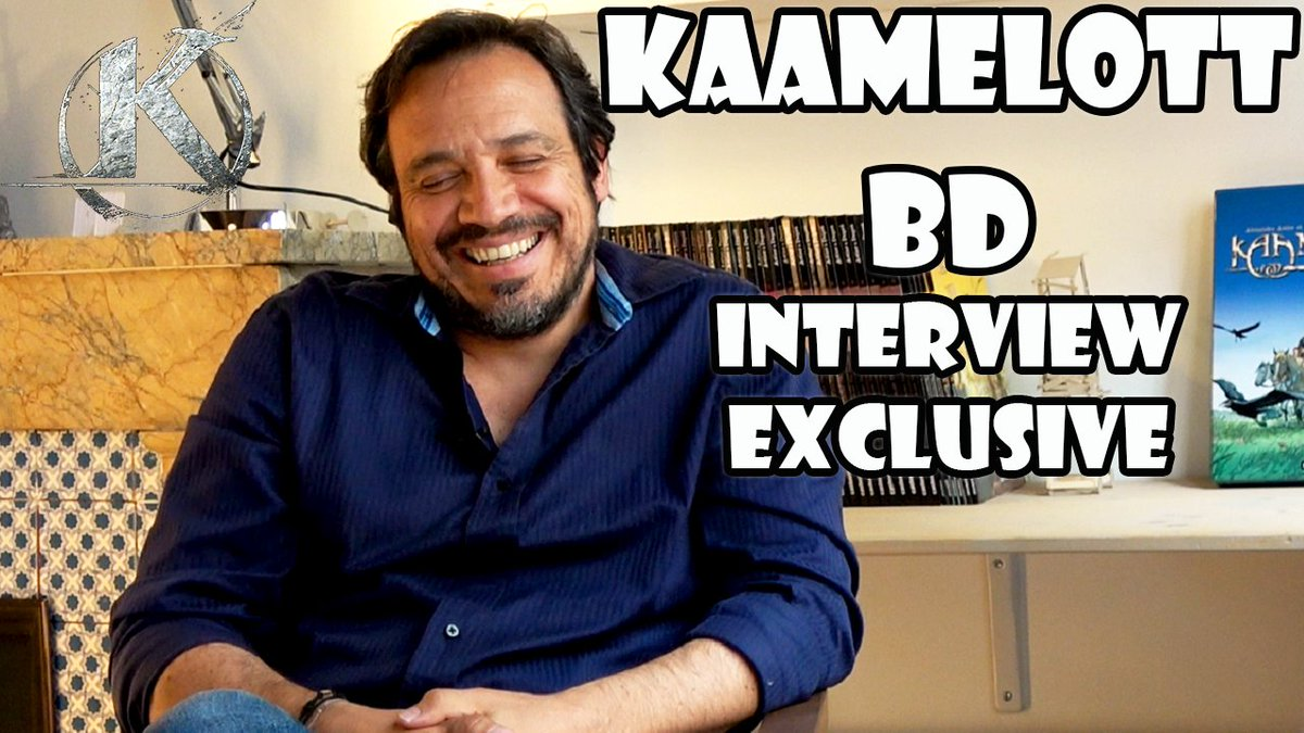 Interview @AAstierOff : BD @Kaamelott_tweet Inspirations, jeu de rôle, fantasy : https://t.co/f8sLmSOiBV https://t.co/OWaRTY9H1y