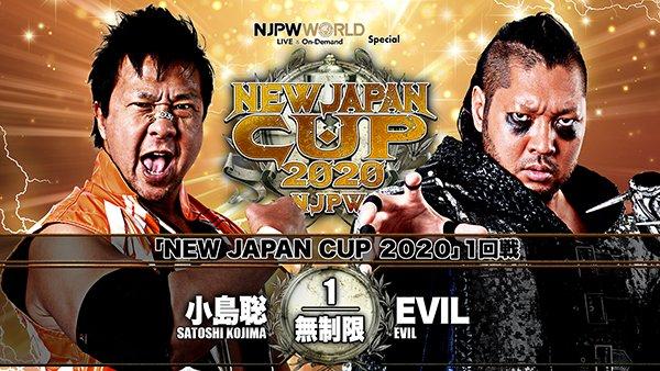 Cobertura: NJPW New Japan Cup 2020 – Day 4 – Nas profundezas das trevas!