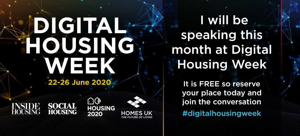 From 12pm today, Ciaran O'shea, Mears Business Development Director will be joined by other professionals to discuss:  'Homelessness: Is everyone still in?'.   Find out how to be part of the discussions here https://t.co/GKqvjahNhP  #digitalhousingweek #socialhousing #housinguk https://t.co/OZ84ZXRO7G