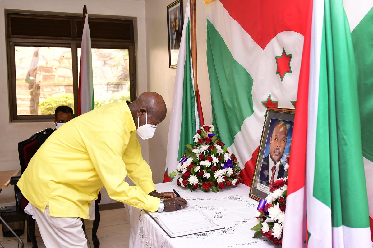 Among other things, President Nkurunziza is remembered for accepting our advice to come out of the bush and negotiate with then President Buyoya in Arusha; a move that brought peace to Burundi.