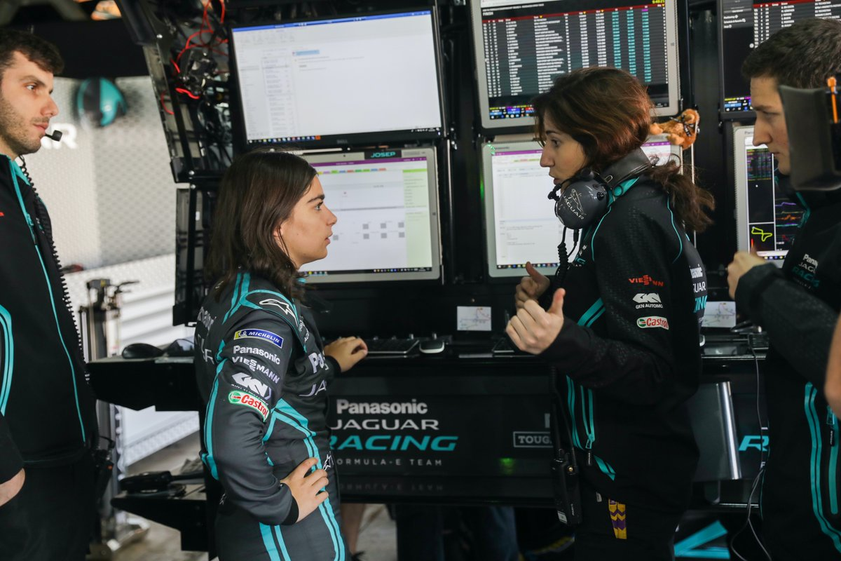 It's #International #Women in #Engineering Day 2020  We are proud of our engineers including Cristina in #ABBFormulaE and Danielle in #eTROPHY and encourage more women and girls into #STEM subjects.  They are not female engineers. They are engineers.  #INWED20 #IWED20 https://t.co/MDTmVQROau