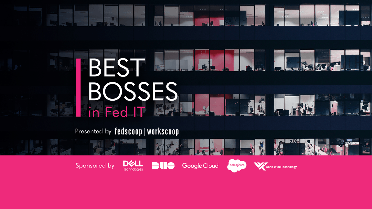 Announcing the 2020 #BestBosses in Federal IT award winners. See the great leaders who won on this year's list: https://t.co/f0cMmJaa5V https://t.co/YIJrdH2CJi