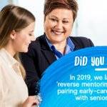 Image for the Tweet beginning: Our 'reverse mentoring' programme exposes