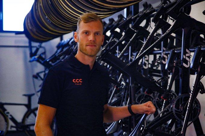 Ларс Боом стал спортивным директором команды CCC-Liv