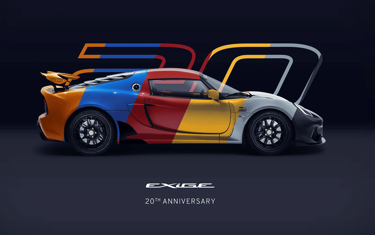 [TLF News] Lotus celebrates 20 years of the Exige with Anniversary Special Edition https://t.co/8y44ACndEs https://t.co/rQ8Suj7PKX