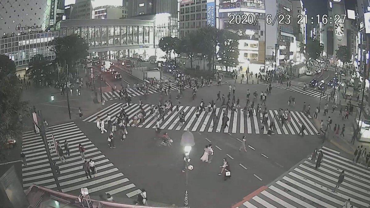 スクランブル 交差点 ライブ