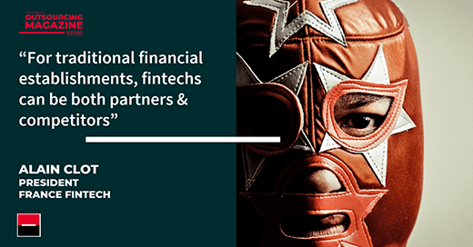 #OutsourcingMagazinebySGSS: For incumbent players, banks, insurers and #assetmanagers, #fintechs are not a problem but rather the solution. Alain Clot, President of France FinTech, explains why. #blockchain #outsourcing https://t.co/HY6ddbKgnR https://t.co/FrgpwZ2Oa5