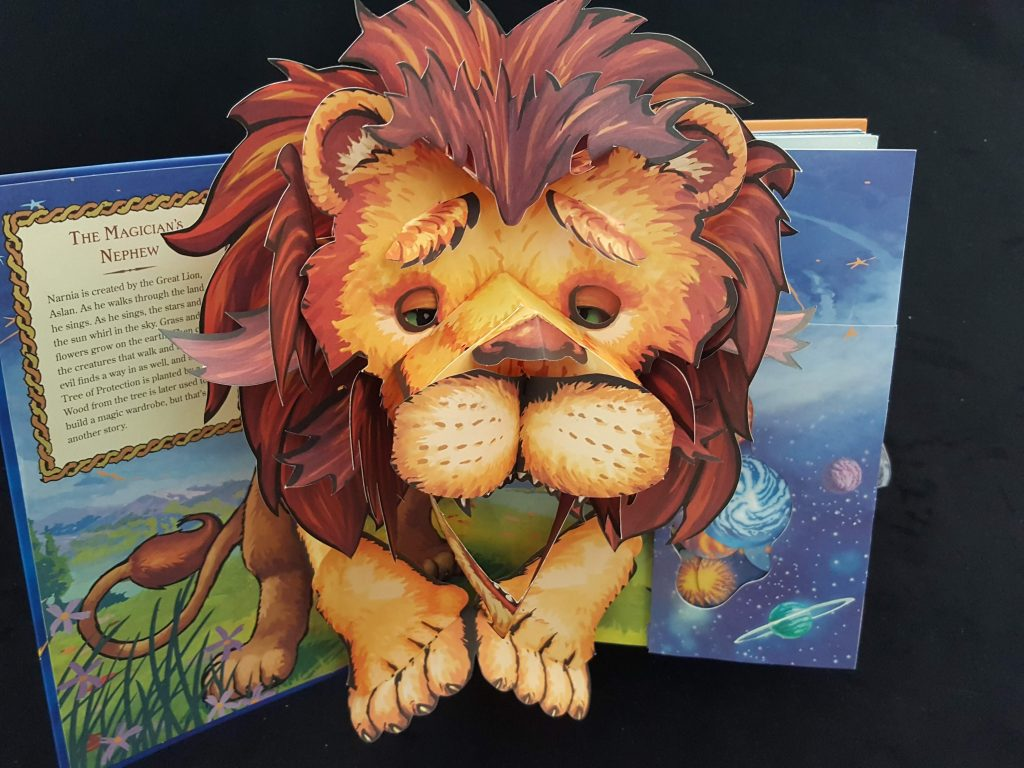 """We're roaring through #PrideMonth with some exceptional paper engineering.   Pop-up designer Robert Sabuda, who created """"The Great Lion Aslan"""" here, is one of several artists from the LGBTQ+ community represented in our @cooperhewitt Library collections: https://t.co/56Lc3Qh0in https://t.co/hrly1fousj"""