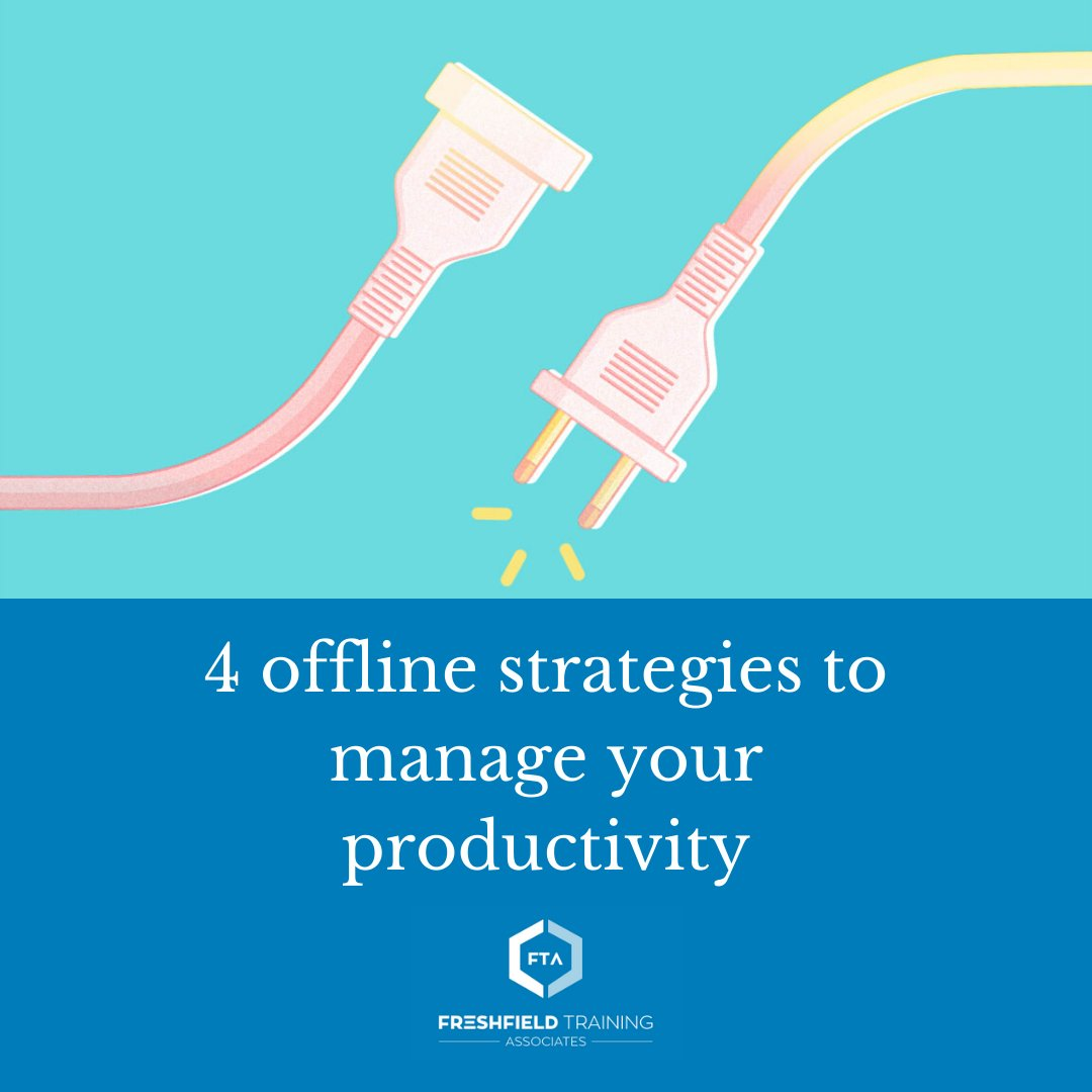 As most of us settle into a new remote-working normal thanks to COVID-19, now's a good time to experiment with four tried-and-tested methods for offline workflow optimization.  Read more: https://t.co/c5IkLA78M4 https://t.co/LAC9M7vxEn