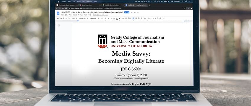 "Our new class is teaching students to discern between truth and misinformation when consuming digital media.  @amandacbright is teaching ""Media Savvy: Becoming Digitally Literate.""  See how the course is a real-time case study in 2020.  Story: https://t.co/aoAZAWZlPS https://t.co/dWSXITVZXz"