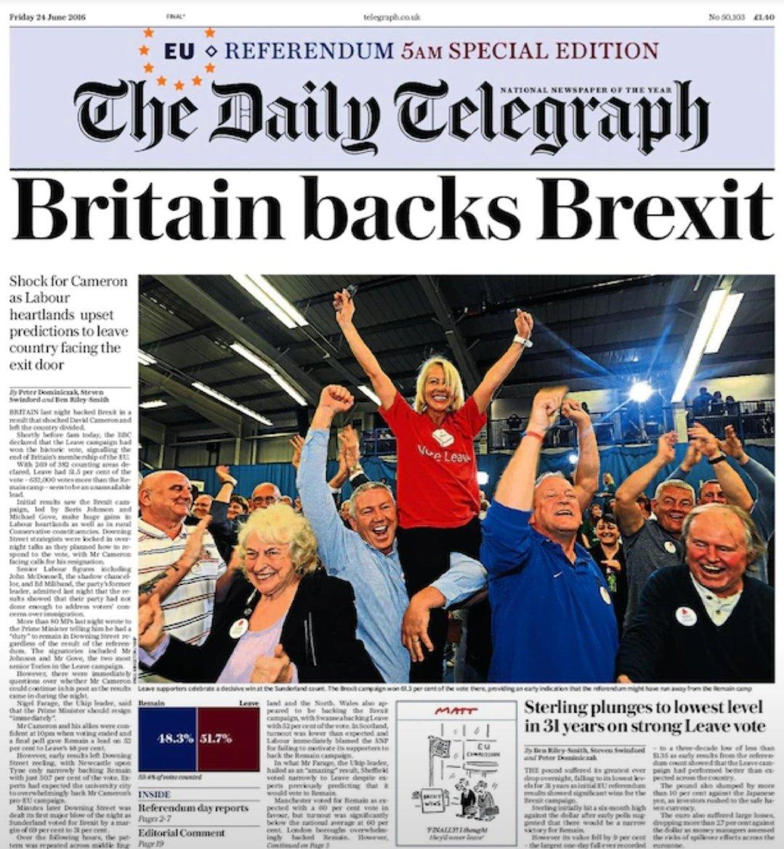 Happy Anniversary, Brexit 🇬🇧🇬🇧🇬🇧🇬🇧
