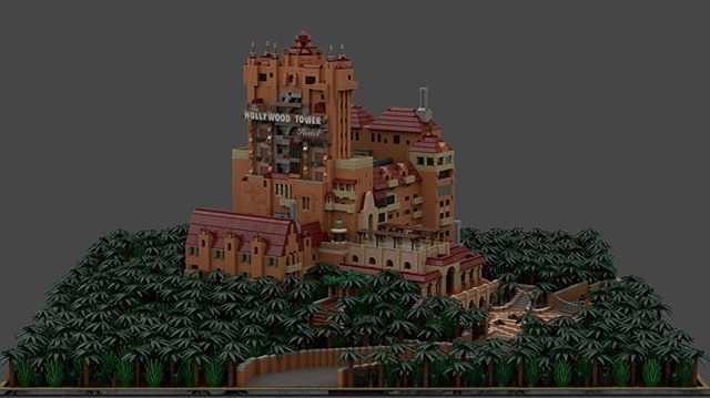 Take all of my money! Hollywood Tower Hotel LEGO set concept by Victor Leparc  <br>http://pic.twitter.com/KQMWsSaYjy