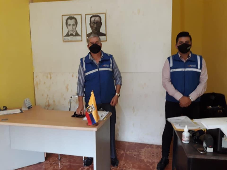#GobernaciónCotopaxi #JefaturaPangua Constato que en las oficinas de las tenencias políticas #Moraspungo #Pinllopata se atienda con las medidas de bioseguridad para evitar la propagación del covid-19 #QuedateEnCasa #Por un #CotopaxiMásSano @Gober_Cotopaxi @MinGobiernoEc https://t.co/RPSWo9URd2